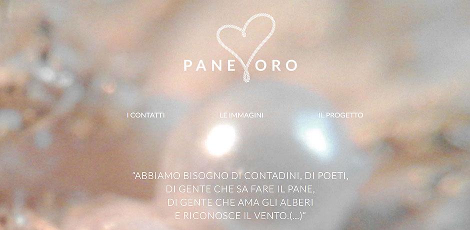 PaneOro immagine sito web