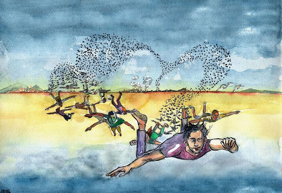 Immagine per MIgrazione. L'impossibilità del ritorno, di Gaver