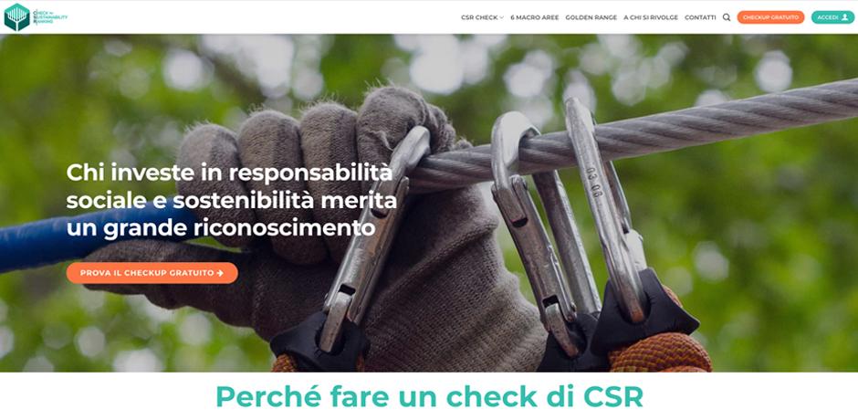 immagine per Check for Sustainability Ranking
